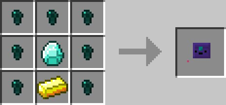 Ender chest receptura inventory pets