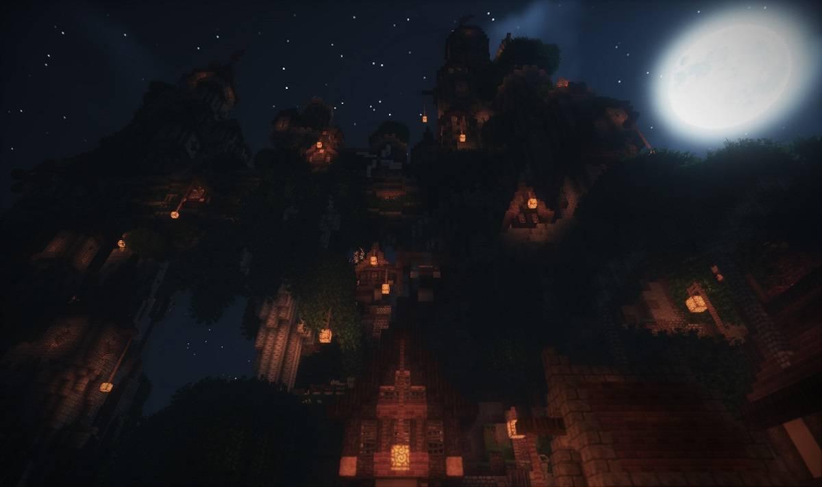 TME Shaders mod minecraft paczka cieni 5
