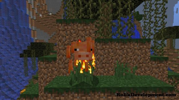 blaze pig mutated mobs minecraft 1.12