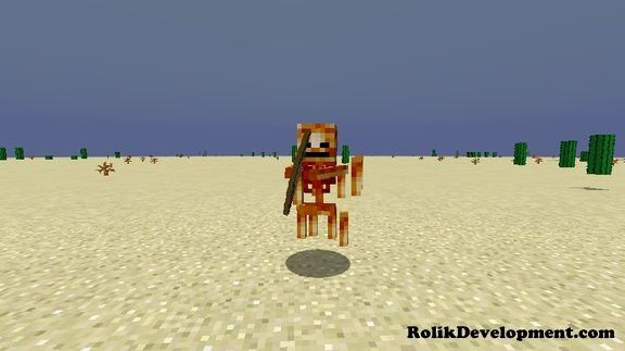blaze skeleton mutated mobs minecraft 1.12