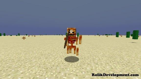 blaze skeleton mutated mobs minecraft 1.12