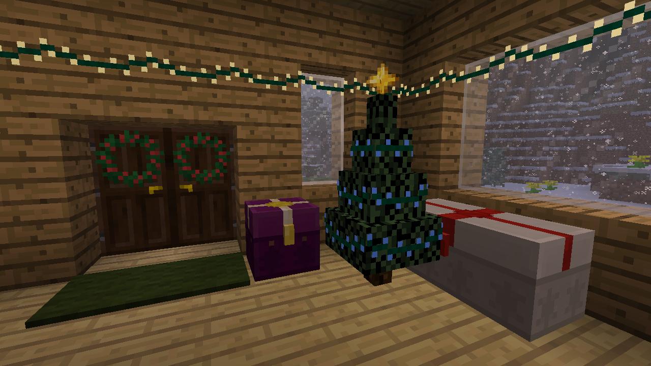 christmas mod minecraft bozonarodzeniowy mod dekoracyjny 4