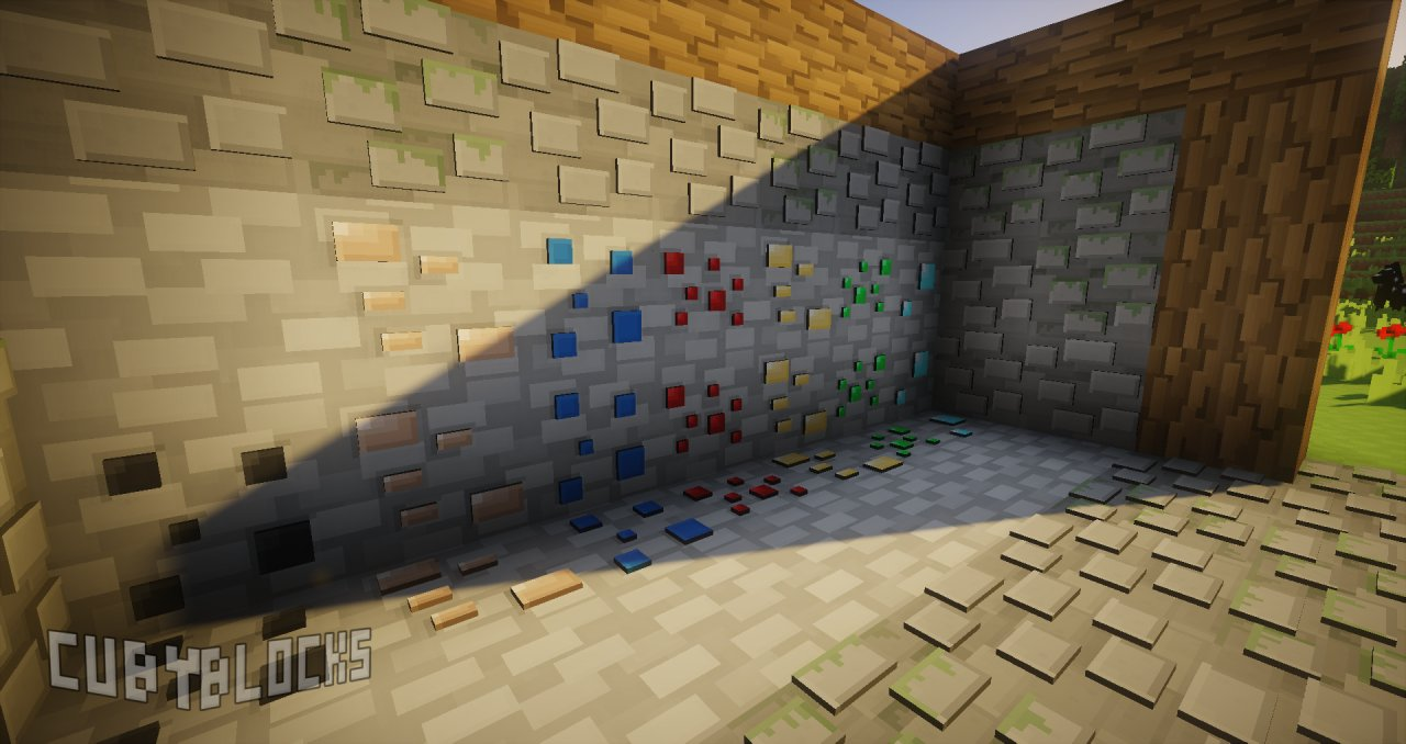 cubyblocks minecraft 3d tekstury 4