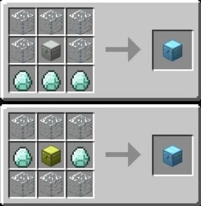 diamentowa skrzynia receptura iron chests