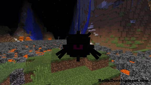 elder spider guardian mutated mobs minecraft 1.12