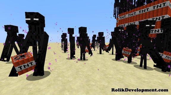 ender golem mutated mobs minecraft 1.12
