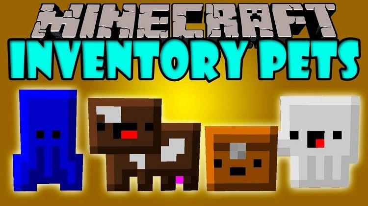 inventory pets mod pupile w plecaku minecraft