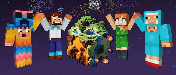 minecraft earth skiny2