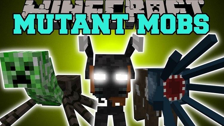 mutated mobs mod minecraft 1.12