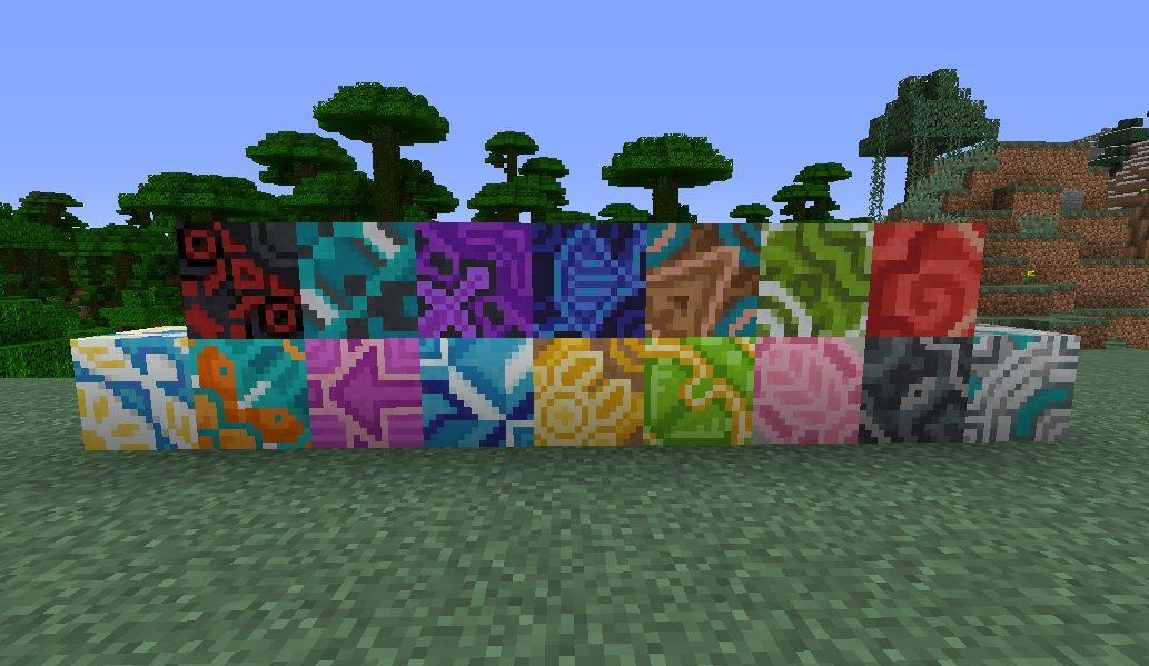 nowe bloki dekoracyjne terakoty