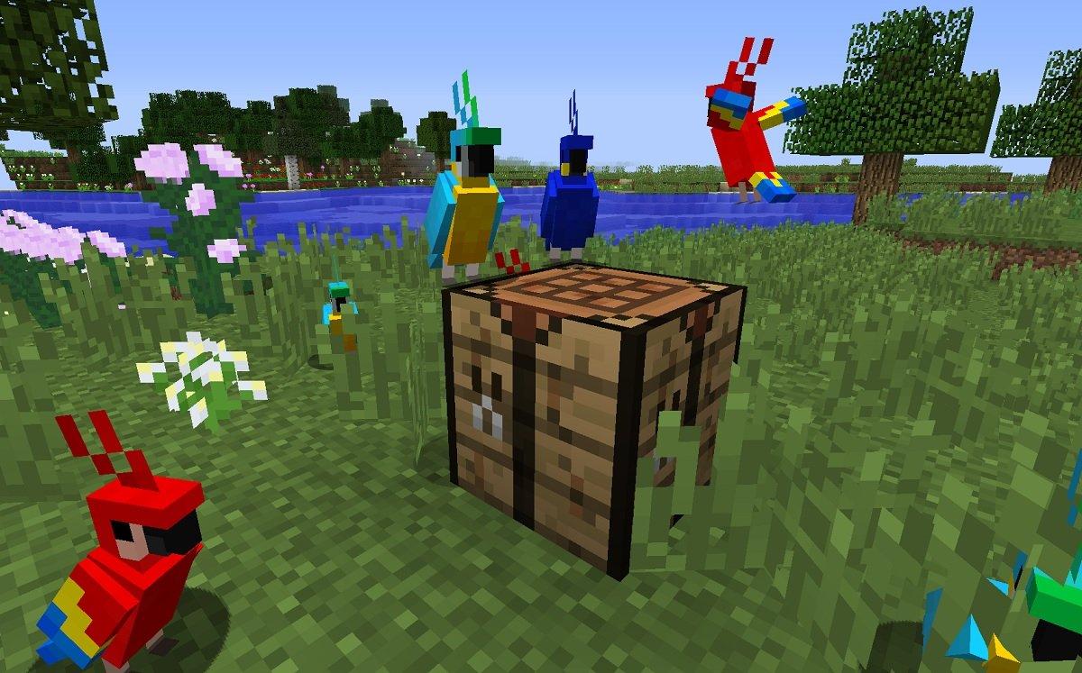 papugi parrot minecraft