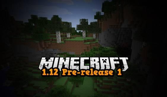pre release 1.12 minecraft