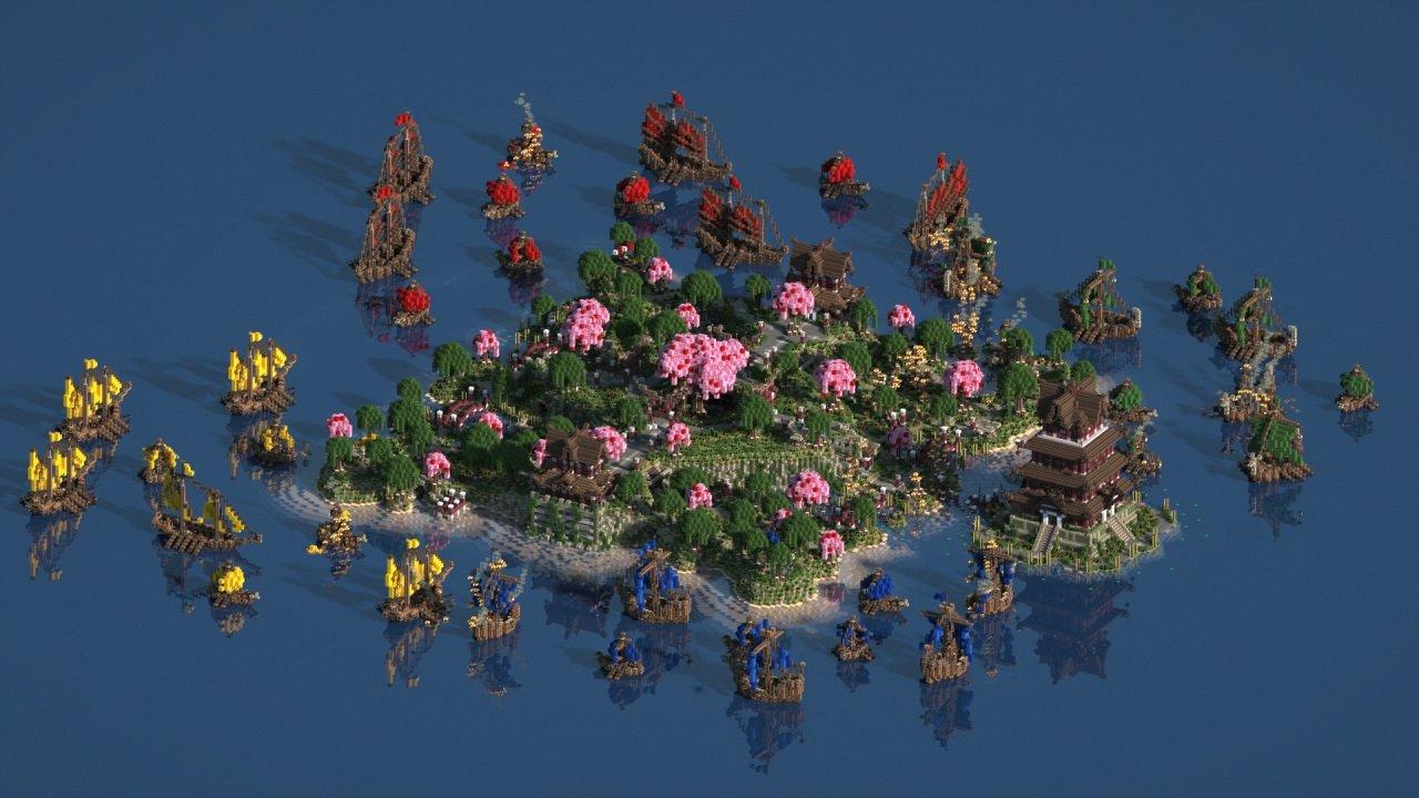 shrine island minecraft mapy