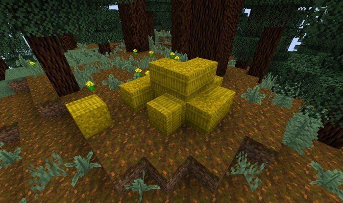 snopy siana wysoka trawa nowe tekstury minecraft