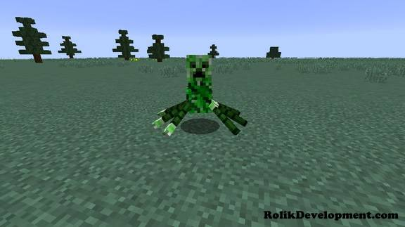 spider creeper mutated mobs minecraft 1.12