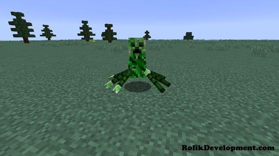 spider creeper mutated mobs minecraft 1.12