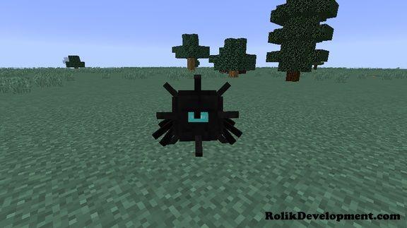 spider guardian mutated mobs minecraft 1.12