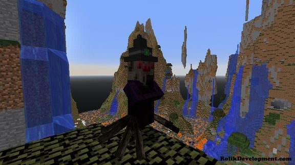 spider witch guardian mutated mobs minecraft 1.12