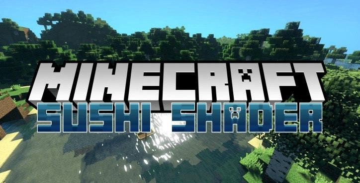 sushi shader minecraft paczka cieni