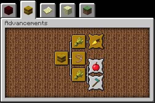 system postepow minecraft