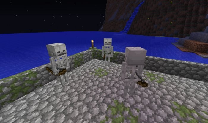 tekstura szkieleta minecraft 1.13
