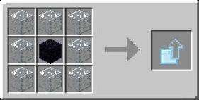 ulepszenie diamentowa do krysztalowa skrzynia receptura iron chests