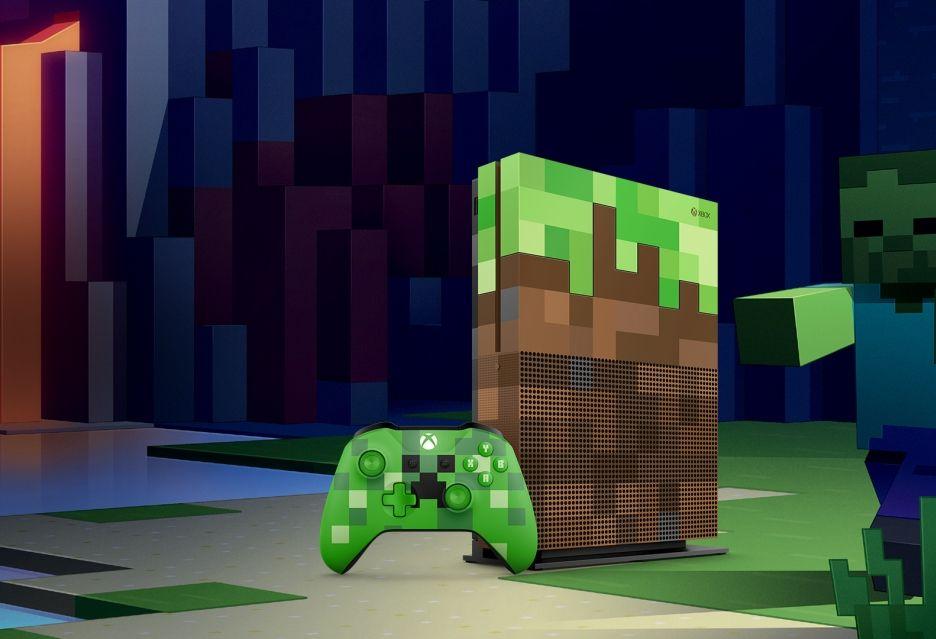 xbox one s minecraft edycja limitowana gamescom