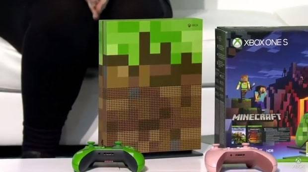 xbox one s minecraft edycja limitowana