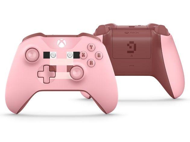 xbox one s minecraft kontlorer wersja swinka pig