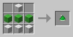zielona czapeczka mikolaja minecraft