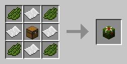 zielony prezent minecraft