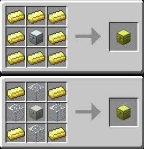 zlota skrzynia receptura iron chests