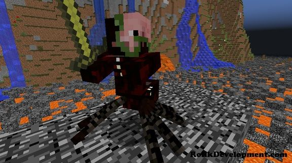 zombie spider pigmen mutated mobs minecraft 1.12