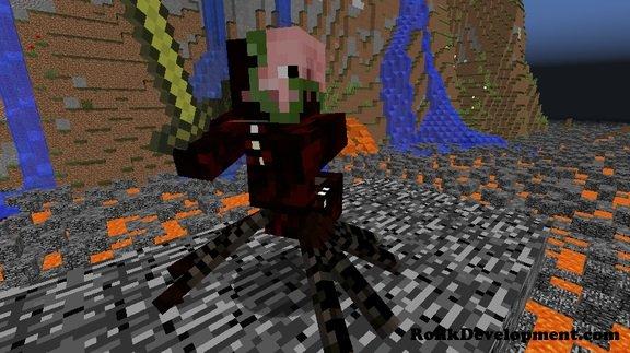 zombie spider pigmen mutated mobs minecraft 1.12