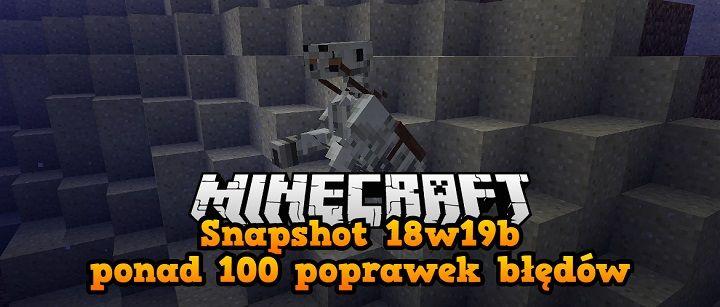Snapshot 18w19b minecraft 1.13 post