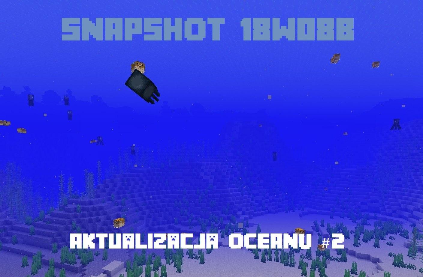 aktualizacja oceanu nowe biomy ryby 2