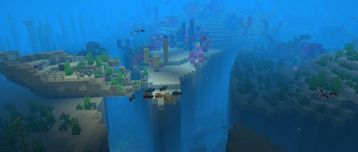 aktualizacja wodna minecraft java 1.13