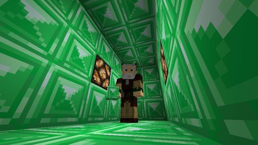 blok emeraldowy minecraft 1.13