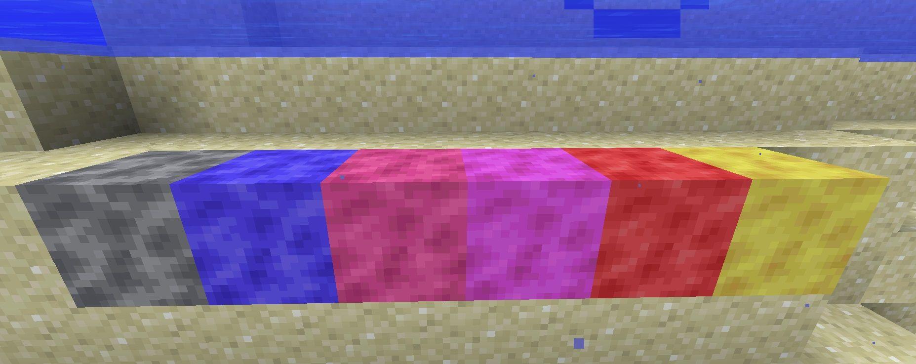 bloki koralowe minecraft 1.13 aktualizacja oceanu