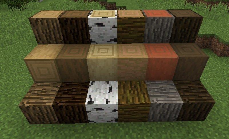 drewno okorowane minecraft 1.13