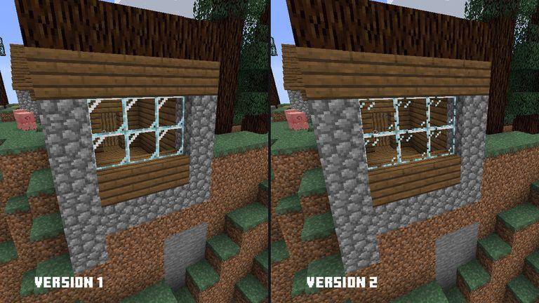 druga wersja nowych tekstur minecraft java podglad 2