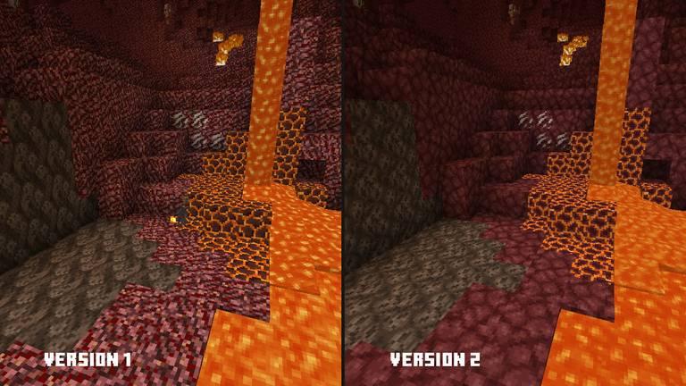 druga wersja nowych tekstur minecraft java podglad 3