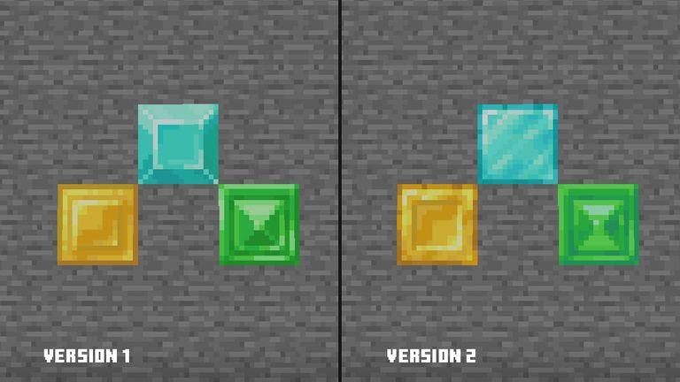 druga wersja nowych tekstur minecraft java