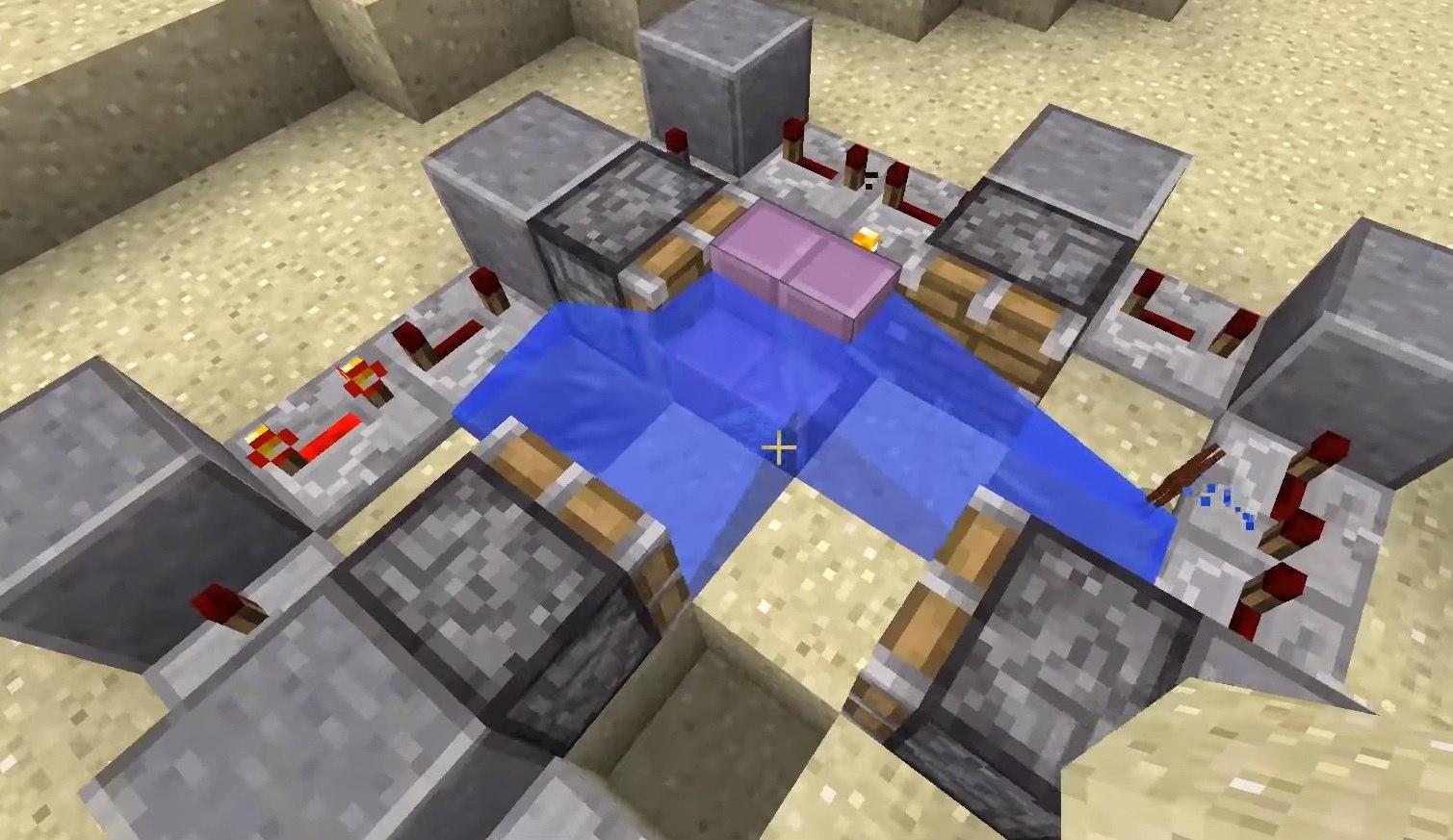 fizyka wody bloki minecraft 1.13 img 3