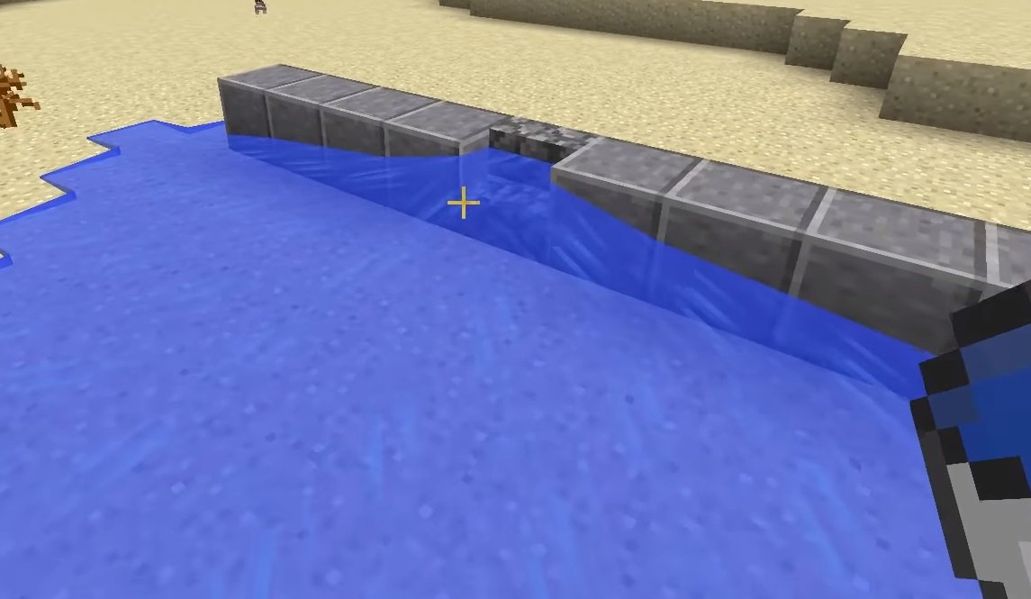 fizyka wody bloki minecraft 1.13