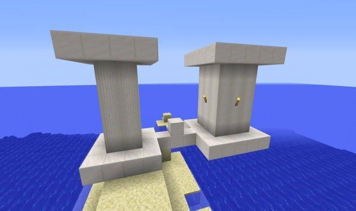 kolumny z kwarcu piasek minecraft 1.13