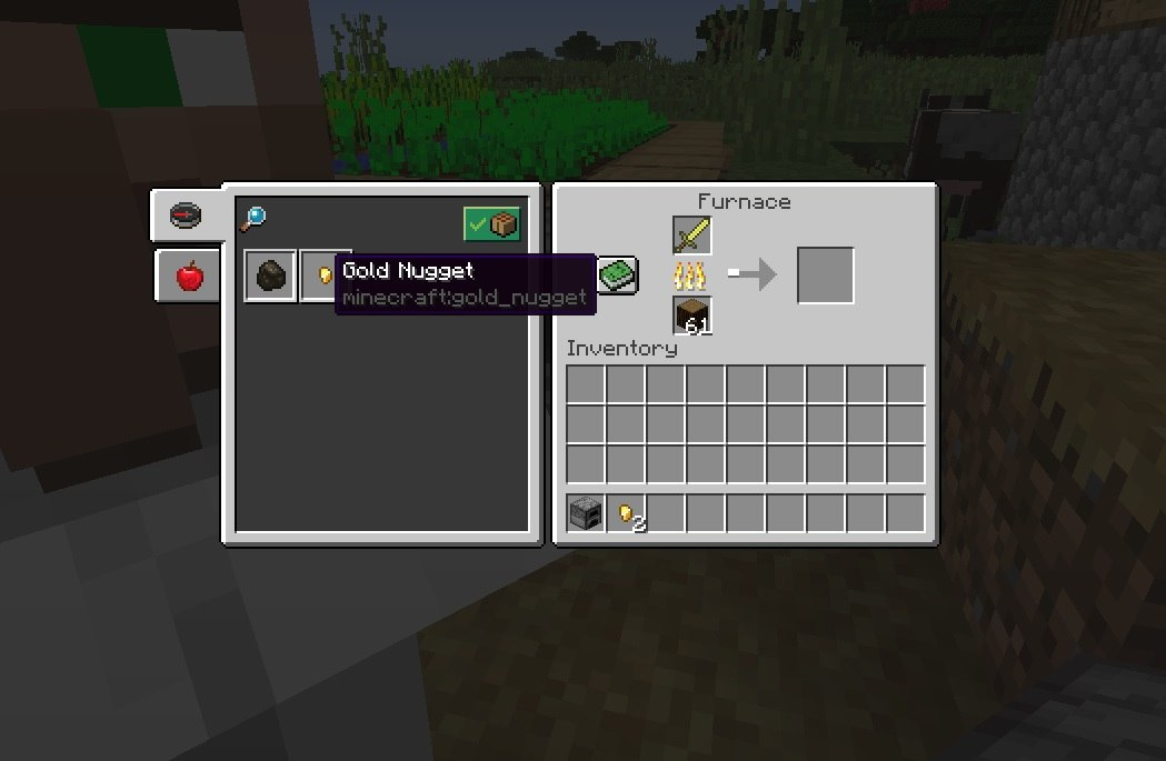 ksiazka receptur dla pieca minecraft 1.13