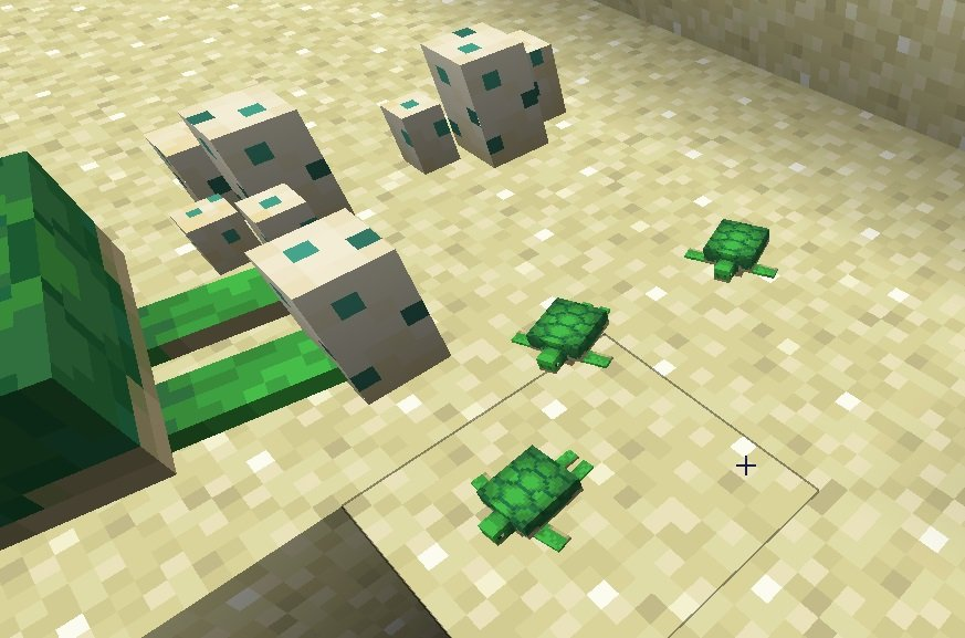 male zolwie minecraft 1.13