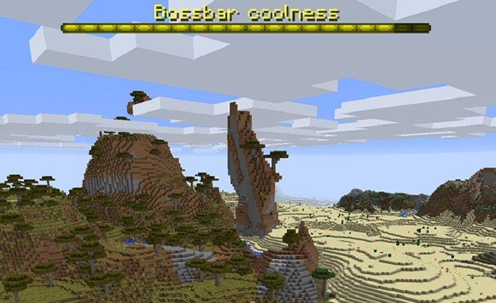 minecraft 1.13 snapshot 18w05a boss bar nowy pasek bosa