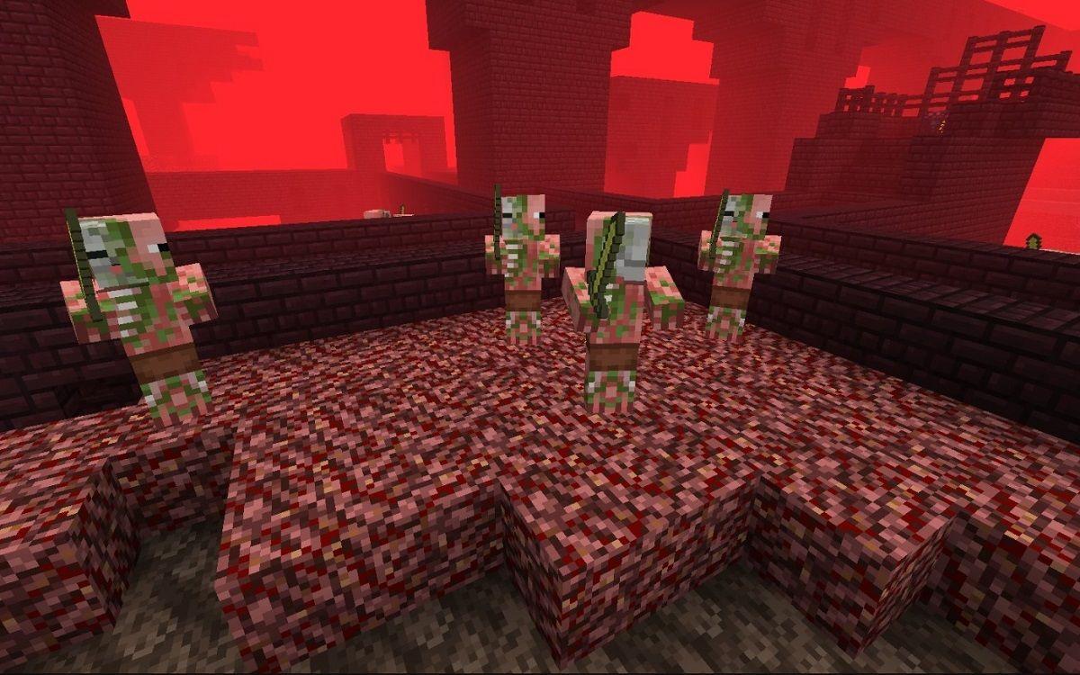nether nowe tekstury minecraft 1.13